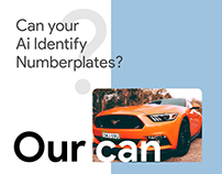Can your AI identify Number plates?
