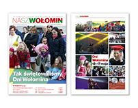 """Gazeta """"Nasz Wołomin"""" dla Urzędu Miejskiego w Wołominie"""