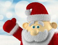 3D character - Santa Claus