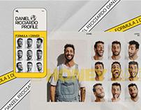 Daniel Ricciardo - website 2020
