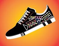 Creative Shoe Illustrations