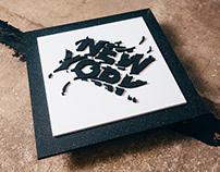 New York | Lettering Installation