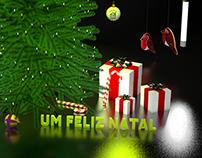 Merry Xmas Postcard for Seguros LOGO