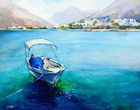 Cyclades. Greek islands.