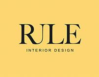 RULE INTERIOR DESIGN / BRAND IDENTITY