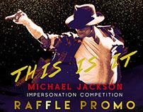 Raffle Promo Poster