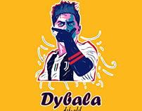 vector art dybala