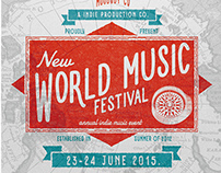 World Music Fest Flyer Poster