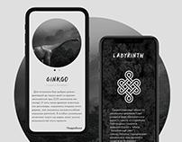 Ginkgo Labyrinth