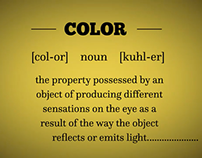 Meaning Of Color Infographic (After Effects)