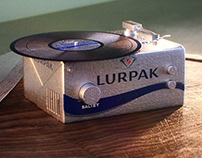 Lurpak turntable