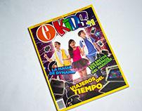 E-Kids 11: Magazine Layout + Photomanipulation