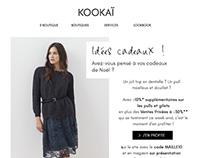 Newsletters Kookai