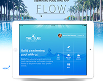 iPad APP Swimming Pool - UI & UX Concept and Designs...