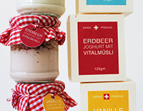 Swiss Premium Yoghurt Packaging