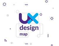 UX Design map | Illustration | webdesign