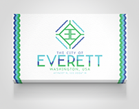 City Of Everett, Washington Logo Design