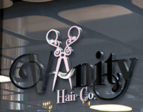 Vanity Hair Co. Logo