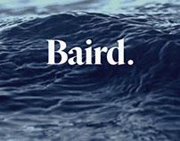 Brand Development // Baird.