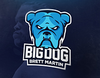Big Dog Fighter Brand Identity