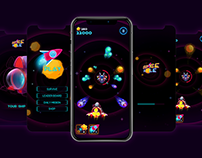 "UI/UX & GAME ASSETS | ""SPACE HOLE"""