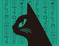 Japan hieroglyph cat
