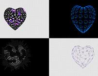 Alpha Hearts - VJ Loop Pack (4in1)