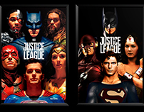 Posters Of Dc Comics Movies With Old Actors