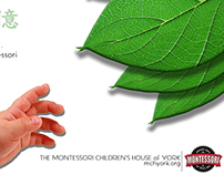Montessori Children's House Poster Design