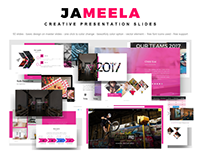 Jameela - Creative presentation slides on etsy