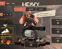 Team Fortress 2 UI Redesign