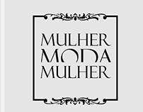 Estudos gráficos logogotipo MMM - Mulher Moda Mulher