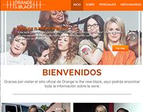 WebSite Design OITNB