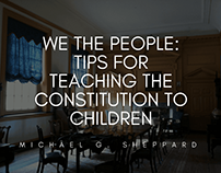 Tips For Teaching the Constitution To Children