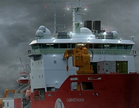 RV Carpathian - Polar Class Research Vessel