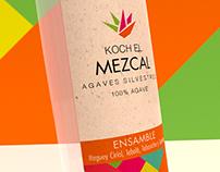 Mezcal Koch - Logotipo y Etiqueta de Producto
