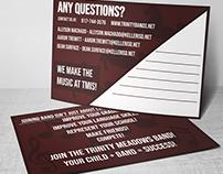 Trinity Meadows Intermediate School Band Postcards