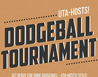 UTA-HOSTS! Dodgeball Tournament