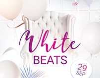 White Beats Flyer