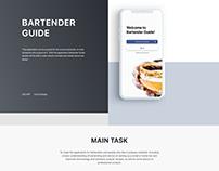 IOS APP Bartender Guide
