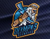 Olympos Olympics Logo Redesign   Zeus Mascot