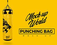 Punching Bag Mock-Up - World of Mock Ups