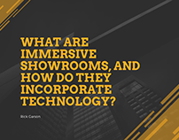 What are Immersive Showrooms?