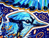 Magical Blue Birds