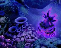 3D Modelisation - Abyssal Creature