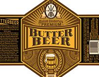 Butterbeer Label