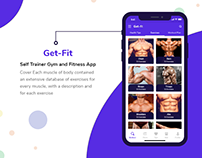 Get Fit - Self Trainer Gym and Fitness App UI Kit