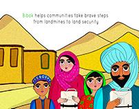 Poster Design for BIBAK, Afghanistan