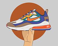 Nike Shoes Design Art