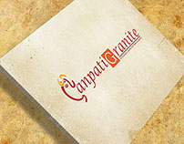 ganpati granite logo design